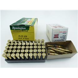 25-20 ASSORTED AMMO