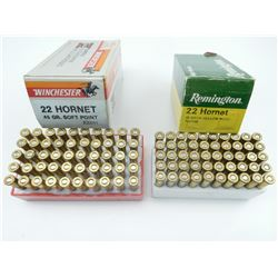 22 HORNET ASSORTED AMMO