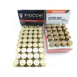 44 S & W RUSSIAN, AND 44 REM MAG AMMO ASSORTED