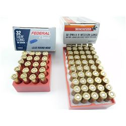 32 S & W LONG ASSORTED AMMO