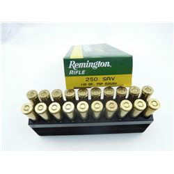 REMINGTON 250 SAV AMMO