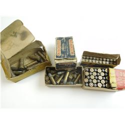 44-40, 38 LONG COLT, 35 WIN, 22 HORNET ASSORTED AMMO