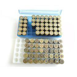 455, 454 CASULL AMMO ASSORTED, BRASS