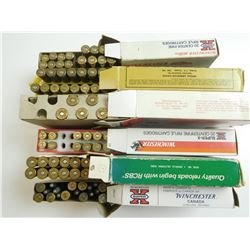 LONG RIFLE ASSORTED AMMO, SOME RELOADED