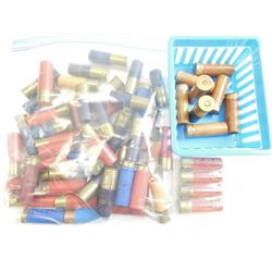 SHOTGUN SHELL ASSORTED, 12 GA, 16 GA, SOME PAPER