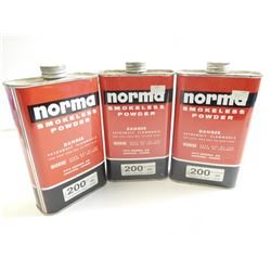 NORMA 200  SMOKELESS POWDER