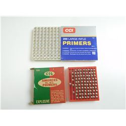 LARGE RIFLE PRIMERS ASSORTED