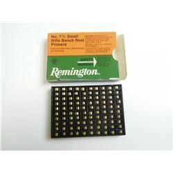 REMINGTON SMALL RIFLE PRIMERS NO. 7 1/2