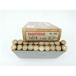 NORMA 7 X 57R AMMO