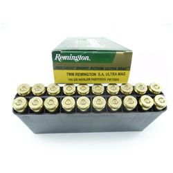 REMINGTON 7MM REM S.A. ULTRA MAG AMMO