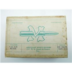 MONTCLAIR SPORTS DIVISION 7.65 MM MAUSER AMMO