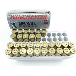 WINCHESTER SUPER-X 356 WIN AMMO