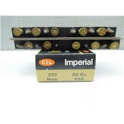 IMPERIAL 222 REMINGTON AMMO