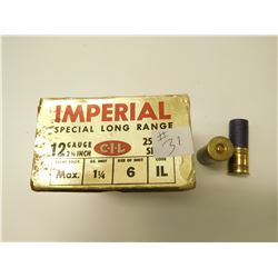 IMPERIAL SPECIAL LONG RANGE 12 GAUGE SHOTSHELLS