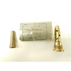 8MM LEBEL AMMO, GALAGHER EMPTY, MILITARY 3 PIECE PRIMER