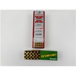 WINCHESTER AND REMINGTON 22 LR AMMO