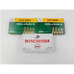 SELLIER & BELLOT, WINCHESTER 223 REM AMMO