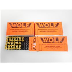 WOLF 38 SPECIAL RELOADED AMMO