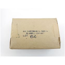 303 BRITISH BLANK CARTRIDGES