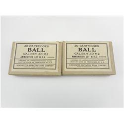 30 CAL M2 BALL AMMO