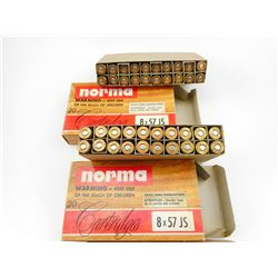NORMA 8 X 57 JS AMMO