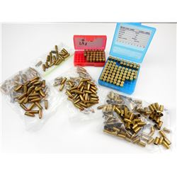 9MM CANADIAN MILITARY IVI AMMO, BRASS