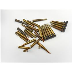 303 BRITISH AMMO, BLANKS ASSORTED