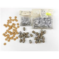 .577 SNIDER BULLETS ASSORTED, .577 CORK WADS