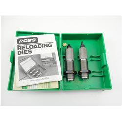RCBS 6MM REM RELOADING DIES