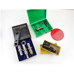 38-357 TAPER, RELOADING DIES, HI-STANDARD .22 WEIGHTS AND TOOLS
