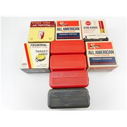 CASE-GARD CASES, COLLECTOR SHOTSHELL BOXES