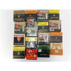 SHOTSHELL BOXES ASSORTED