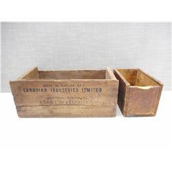 CIL BOX, SMALLER BOX