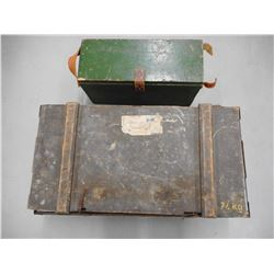 WOODEN MILITARY CRATE, WOODEN CRATE