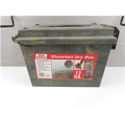 PLASTIC SHOTSHELL DRY BOX
