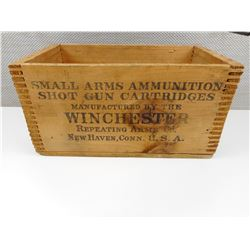 WINCHESTER REPEATING ARMS CO. SHOT GUN CARTRIDGES BOX
