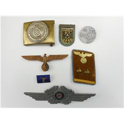 ASSORTED GERMAN WAR / MILITARY ITEMS