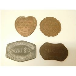 U.S. DEPARTMENT OF INDIAN AFFAIRS TOKENS