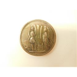 AMERICAN INDIAN BRONZE PEACE MEDAL