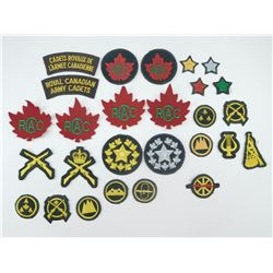 CANADIAN ARMY CADET CLOTH BADGES