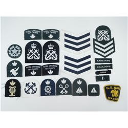 CANADIAN SEA CADET CLOTH BADGES