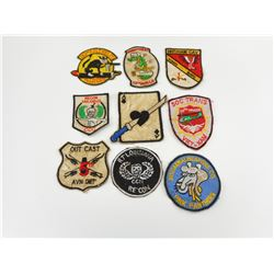 ASSORTED AIRFORCE CLOTH BADGES
