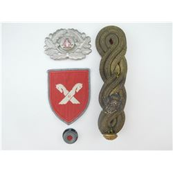 ASSORTED MILITARY INSIGNIA