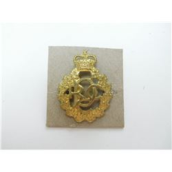 ROYAL CANADIAN DENTAL CORPS CAP/COLLAR BADGE