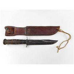U.S.M.C. CAMILLUS KNIFE WITH SHEATH