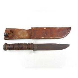 U.S.M.C. KA-BAR KNIFE WITH SHEATH