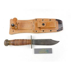 U.S CAMILLUS PILOT SURVIVAL KNIFE WITH SHEATH