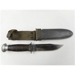 U.S.N. MK 1 FIGHTING KNIFE WITH SHEATH