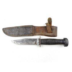 U.S.N. MK1 FIGHTING KNIFE WITH SHEATH
