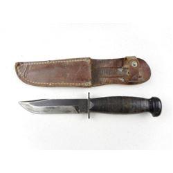 U.S.N. CAMILLUS FIGHTING KNIFE WITH SHEATH